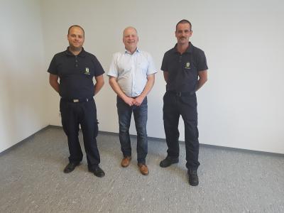 Vorschaubild zur Meldung: Neuer Fußbodenbelag im Vorstandszimmer der Feuerwehr Immenhausen