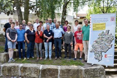 Akteure aus Sontra beteiligten sich am Engagement-Lotsen-Programm des Landes Hessen. Auftakt der E-Lotsen-Ausbildung war Anfang Juni in Reiskirchen.
