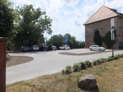 Ansicht fertiger Parkplatz ©Karsten Richter