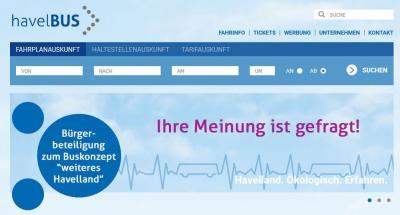 """Vorschaubild zur Meldung: Bürgerbeteiligung am Buskonzept """"weiteres Havelland"""""""