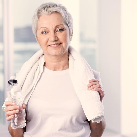 Spezialgymnastik Aktiv bis ins hohe Alter für ältere und alte Menschen