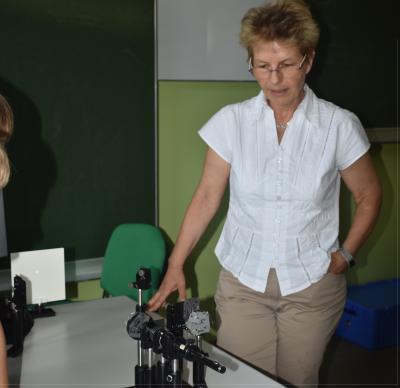 Dr. Stähler-Schöpf im MINT-Campus Dachau