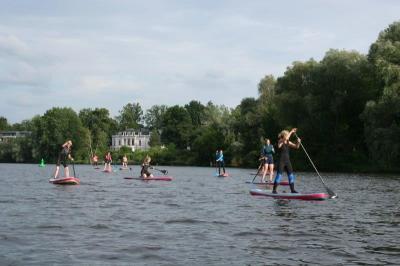 Foto zur Meldung: Friedas auf dem Wasser