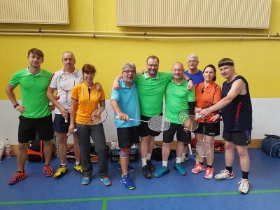 Vorschaubild zur Meldung: BadmintonSchule Sven Schüler jetzt im B1