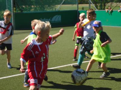 Foto zur Meldung: Tolles Sportfest gefeiert