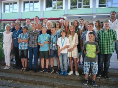 Foto zur Meldung: Auf Wiedersehen - Klasse 6