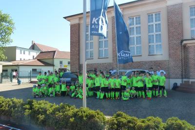 Foto zur Meldung: 11. Fußballcamp des ESV Lok Falkenberg - Tag 3