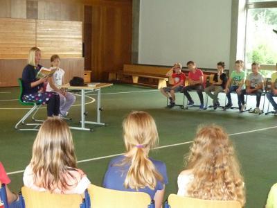 Foto zur Meldung: Leseprojektwoche Grundschule