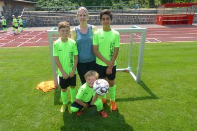Foto zur Meldung: Wieder ein erfolgreiches Fußballcamp !