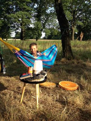 Foto zur Meldung: Sommerlesenacht im Schlosspark Wiesenburg