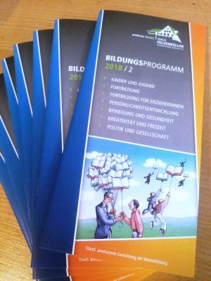 Vorschaubild zur Meldung: Das neue Bildungsprogramm ist erschienen, in einer ziemlich turbulenten Zeit!