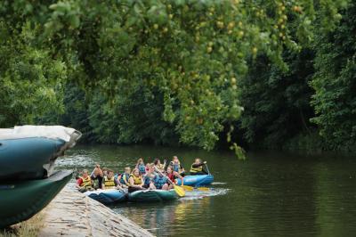 Foto zur Meldung: Rafting – Teambuilding par excellence – Tschechien Tag 2