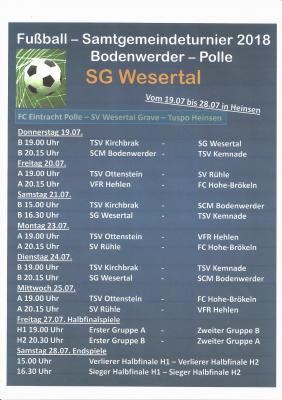Vorschaubild zur Meldung: Samtgemeinde-Turnier 2018