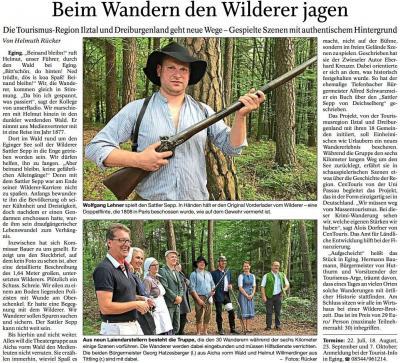 Vorschaubild zur Meldung: Beim Wandern den Wilderer jagen