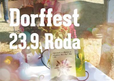 Vorschaubild zur Meldung: Dorffest in Roda