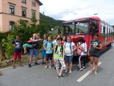 Foto zur Meldung: Abschlussfahrt Klasse 6 nach Sebnitz