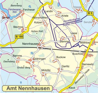 Amtsbereich Nennhausen