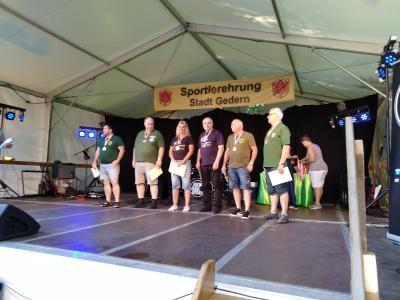 Foto zur Meldung: Sportlerehrung der Stadt Gedern 2018