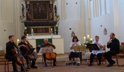 Foto zur Meldung: Gelungener Auftritt in der Kuppentiner Kirche