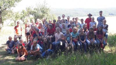 Foto zur Meldung: Unser Sommerferiencamp in Straußberg/Thüringen