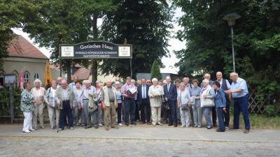 Foto zu Meldung: Besuch aus der Partnergemeinde Welver (NRW)