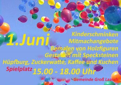 Foto zur Meldung: Gross Laasch - Kindertag am 1.Juni