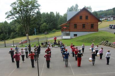 Foto zur Meldung: Training am Berg – Tschechien Tag 4