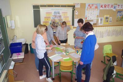 Foto zur Meldung: Informationsaustausch zwischen Grundschulen