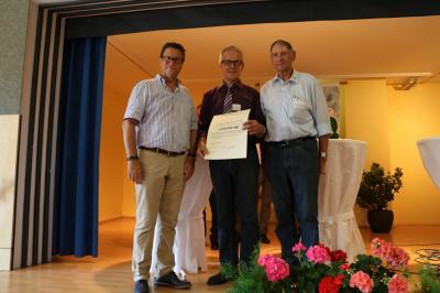 Vorschaubild zur Meldung: Minister Hauk lobt Veringer Entwicklung