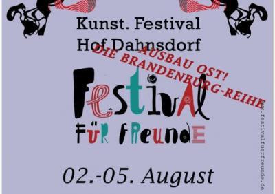 Foto zu Meldung: Festival Für Freunde 2018 - Dahnsdorfer.Kunst.Festival