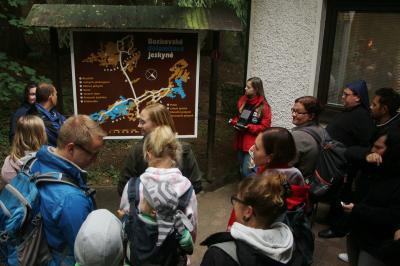 Foto zur Meldung: Wasserfall gesichtet und Höhle besucht – Tschechien Tag 5