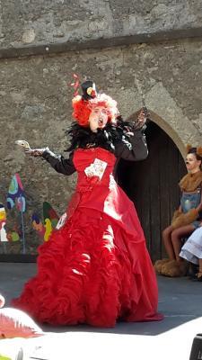 Foto zur Meldung: Theater auf der Leuchtenburg