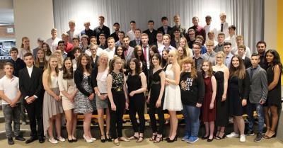 Foto zur Meldung: Wir gratulieren den Schulabgängern