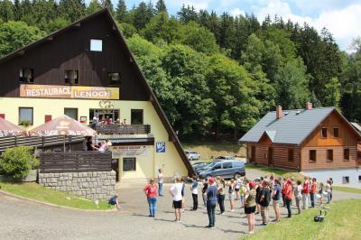 Foto zur Meldung: Noch einmal Training vor traumhafter Kulisse – Tschechien Tag 7