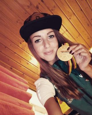 Foto zur Meldung: Juliane wird zweifache Deutsche Meisterin