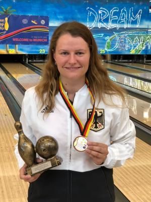 Bronzemedaille im Master für Marina Ritter (GSV Braunschweig)
