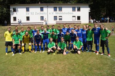Vorschaubild zur Meldung: Freundschaftsspiel SG Zschaitz/Ostrau II - FC Grimma