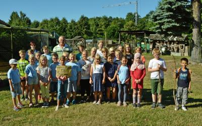 Foto zu Meldung: Jahn-Grundschüler spenden für den Streichelzoo