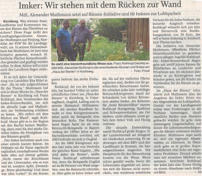 Auszug Der Bayerwald Bote 17.07.2018