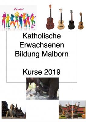 Vorschaubild zur Meldung: Kurse der KEB Malborn. (aktualisiert 21.03.2019)