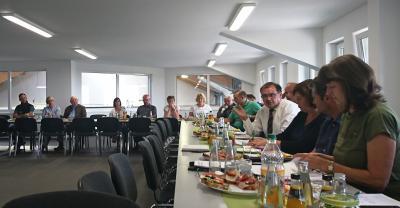 Foto zur Meldung: Erweiterte Vorstandssitzung in Görlsdorf