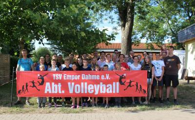 TSV Empore Dahme Abt. Volleyball 2018