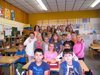 Foto zur Meldung: Realschullehrer informieren sich in Röslauer Lernwerkstatt