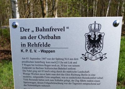 """Foto zur Meldung: Sonderausstellung """"110 Jahre Feuerwehr in Rehfelde"""""""