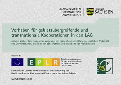 Für dieses Vorhaben ist eine Förderung aus dem ELER nach Richtlinie LEADER/2014 beantragt.