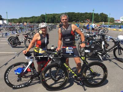 Foto zu Meldung: Triathlon Weltmeisterschaft in Dänemark: Holger Beckert auf Platz 34