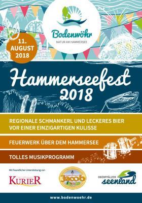 Foto zur Meldung: Hammerseefest Bodenwöhr 2018