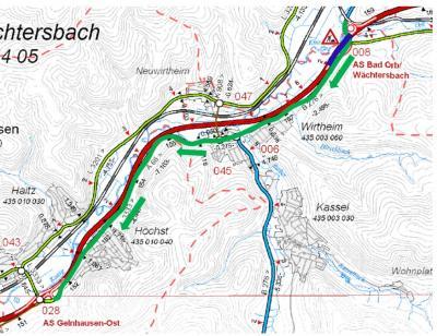 Foto zu Meldung: A66: AS Bad Orb/Wächtersbach in Richtung Frankfurt wird ab nächster Woche gesperrt