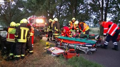 Feuerwehren und ASB im Einsatz