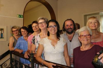 """Foto zur Meldung: """"Farbkreis C"""" eröffnet neue Ausstelung im Calauer Rathaus"""